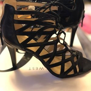 Strapy heels